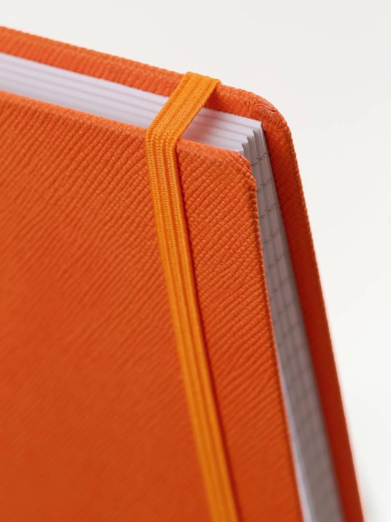 A4 notitieboeken Praga oranje en groen