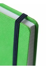 7126 - 2 A4 notebooks Praga orange and green