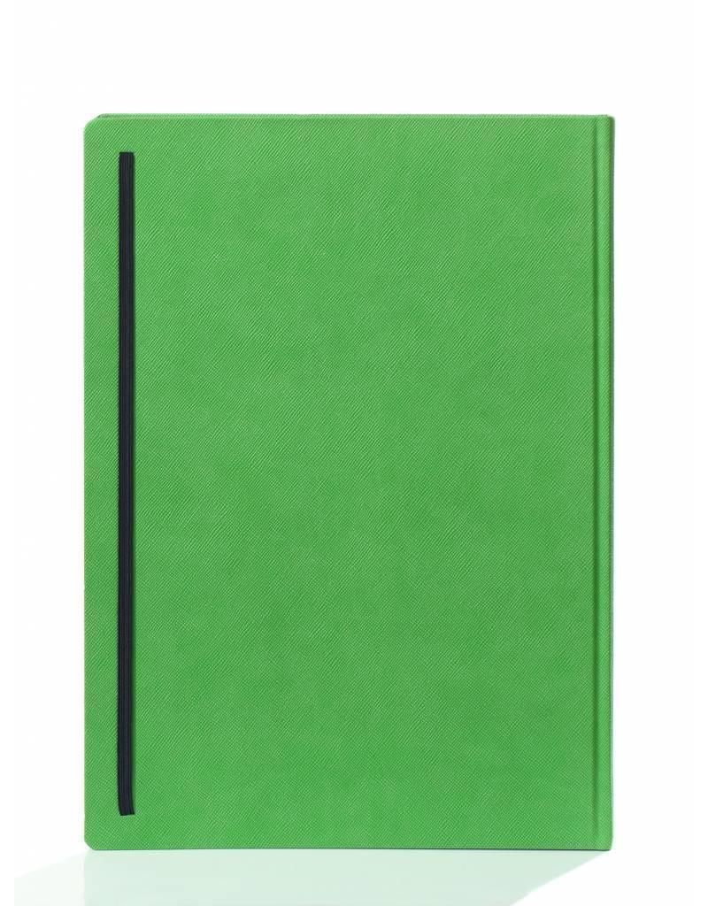 2 A4 notitieboekjes Praga Orange enGreen