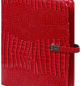 Kalpa 1011-62 Kalpa A5 Organizer Gloss croco Red