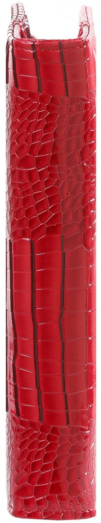 Kalpa 1011-62 Kalpa A5 Organiser Faux Leather With Paper Fillers Weekly Planner, Journal, Diary - Gloss Croco Red