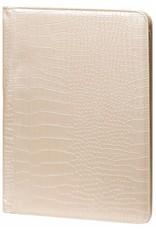 Kalpa 2400-65 Kalpa A4 Organiser Alpstein Writing Case Weekly Planner Journal Diary - 33 x 26 cm - Croco Pearl