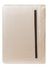 Kalpa 2400-65 Kalpa A4 organiser Alpstein Writing Case Weekly Planner Journal Diary - 33 x 26 cm. - croco Pearl