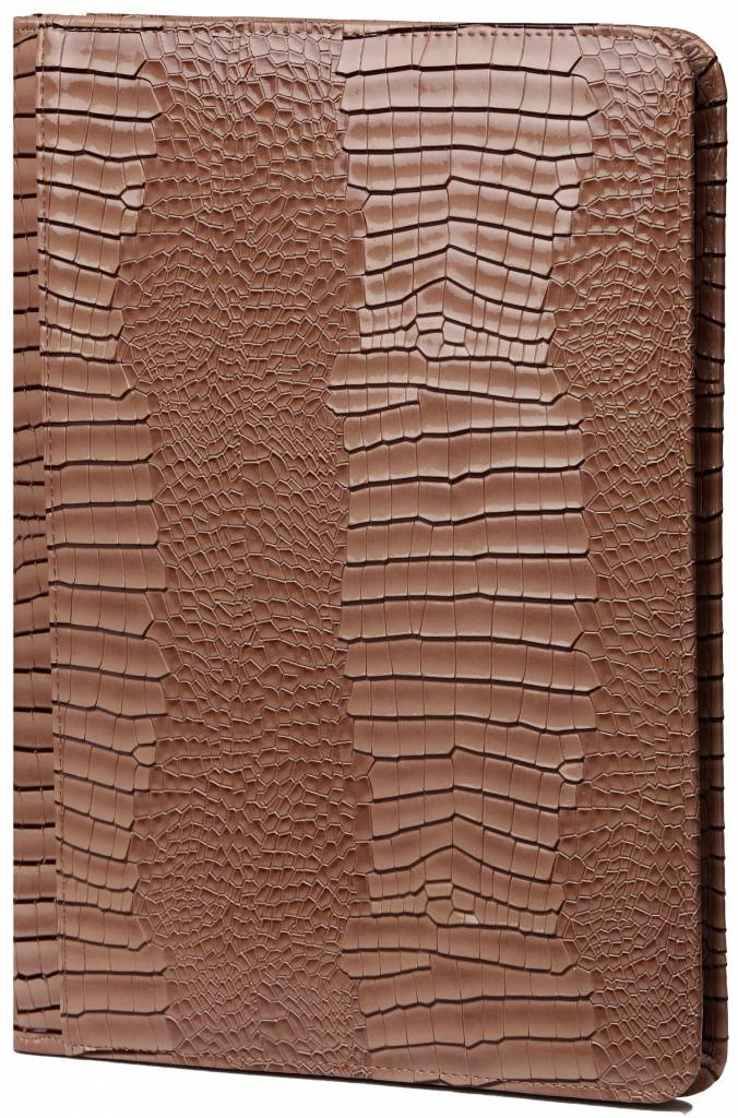 Kalpa 2400-63 Kalpa A4 Organiser Alpstein Writing Case Weekly Planner Journal Diary - 33 x 26 cm - Gloss Crock Taupe