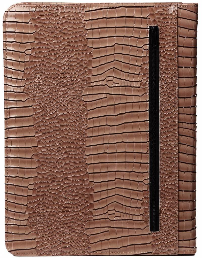Kalpa 2400-63 Kalpa A4 organiser Alpstein Writing Case Weekly Planner Journal Diary - 33 x 26 cm. - Gloss crock taupe