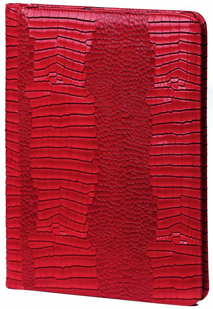 Kalpa 2400-62 Kalpa A4 Organiser Alpstein Writing Case Weekly Planner Journal Diary - 33 x 26 cm - Gloss Crock Red