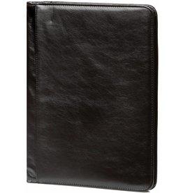 Kalpa 2400-60 A4 Writing case with zip. - pullup zwart