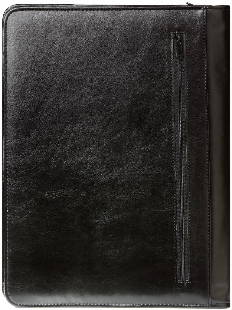 Kalpa 2400-60 Kalpa A4 Organiser Alpstein Writing Case Weekly Planner Journal Diary - 33 x 26 cm - Pullup Black