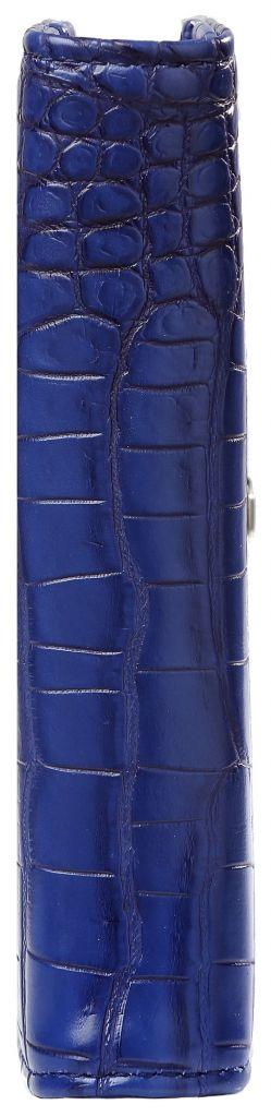 Kalpa 1311-67 Kalpa Junior Pocket Organiser with Paper Fillers, Weekly Planner, Journal, Diary - Cobalt Croco Blue