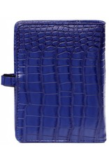 Kalpa Pocket (junior) organizer croco cobalt