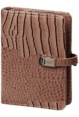 Kalpa Pocket (junior) organizer gloss croco taupe