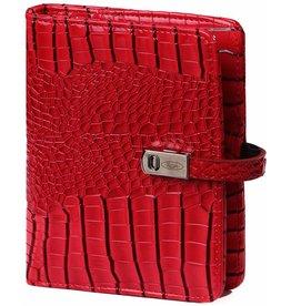 Kalpa 1311-62 Pocket organiser gloss croco red