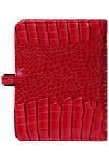 Kalpa Kalpa Pocket organizer gloss croco red