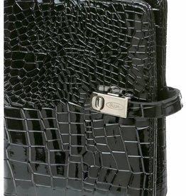 Kalpa 1311-61 Kalpa Pocket organizer gloss croco black