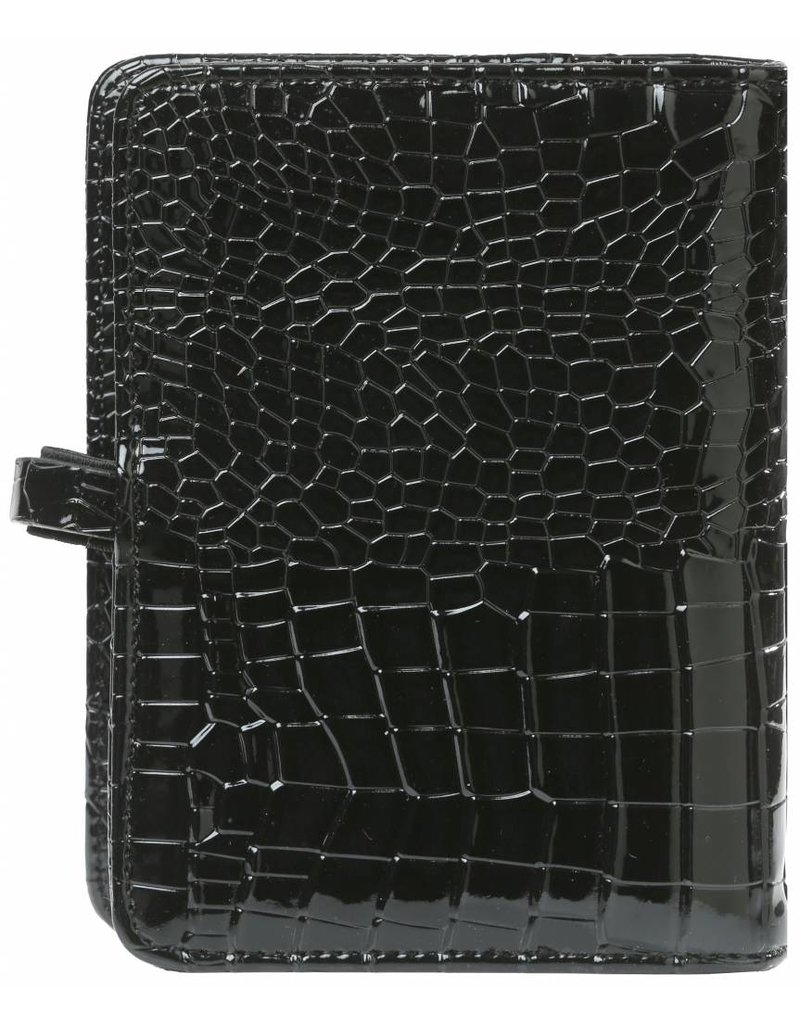 Kalpa Pocket organiser gloss croco black