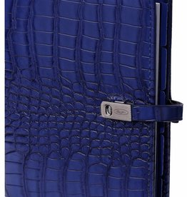 Kalpa 1111-67 Kalpa personal organizer croco cobaltic blue