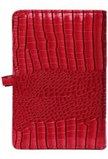Kalpa Personal organiser gloss croco red