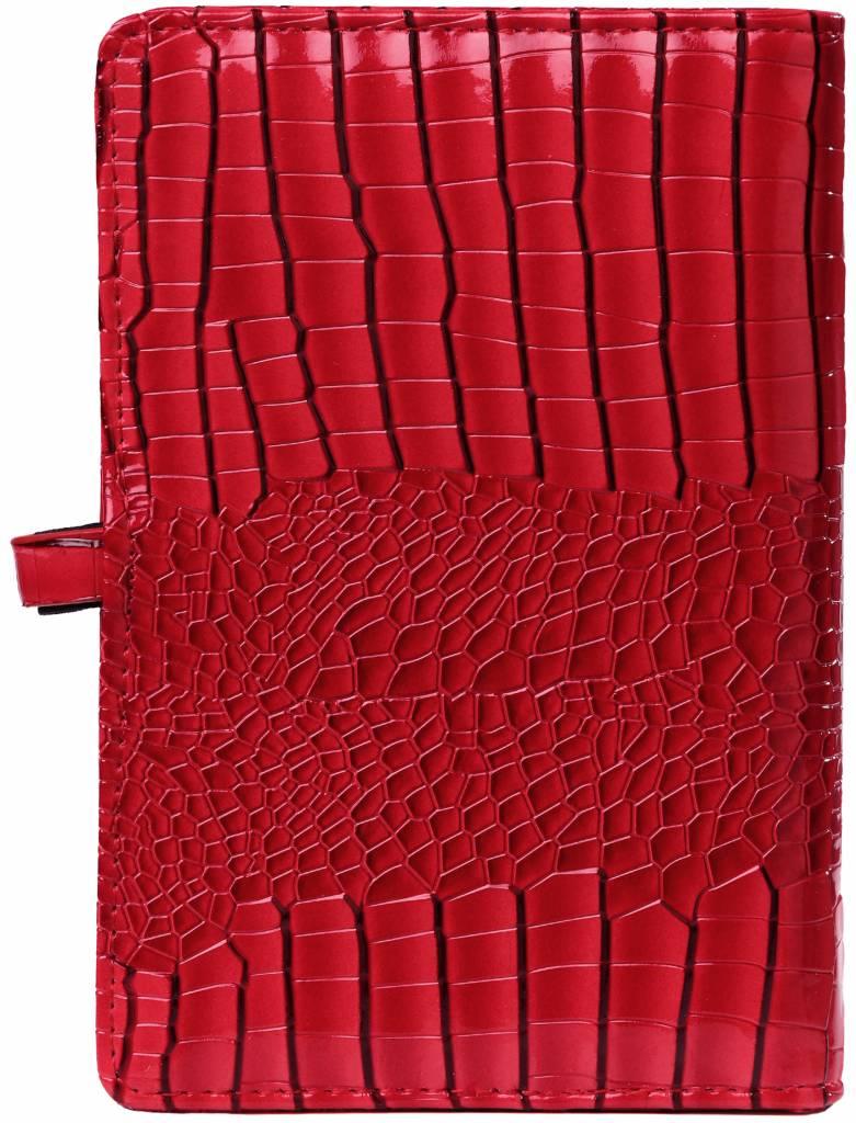 Kalpa Personal (standaard) organiser gloss croco rood