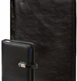 Kalpa 1311-240060 - A4 schrijfmap en pocket (junior) organiser pullup zwart