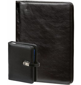 Kalpa 1311-240060 - A4 writing case and pocket organiser pullup black