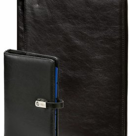 Kalpa 1111-240060 Kalpa A4 Alpstein writing case and personal organizer pullup black