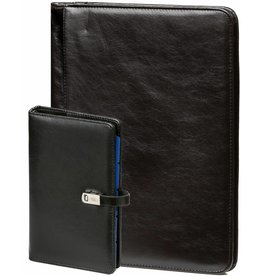 Kalpa 1111-240060 Kalpa A4 Alpstein writing case and personal organizer pullup black