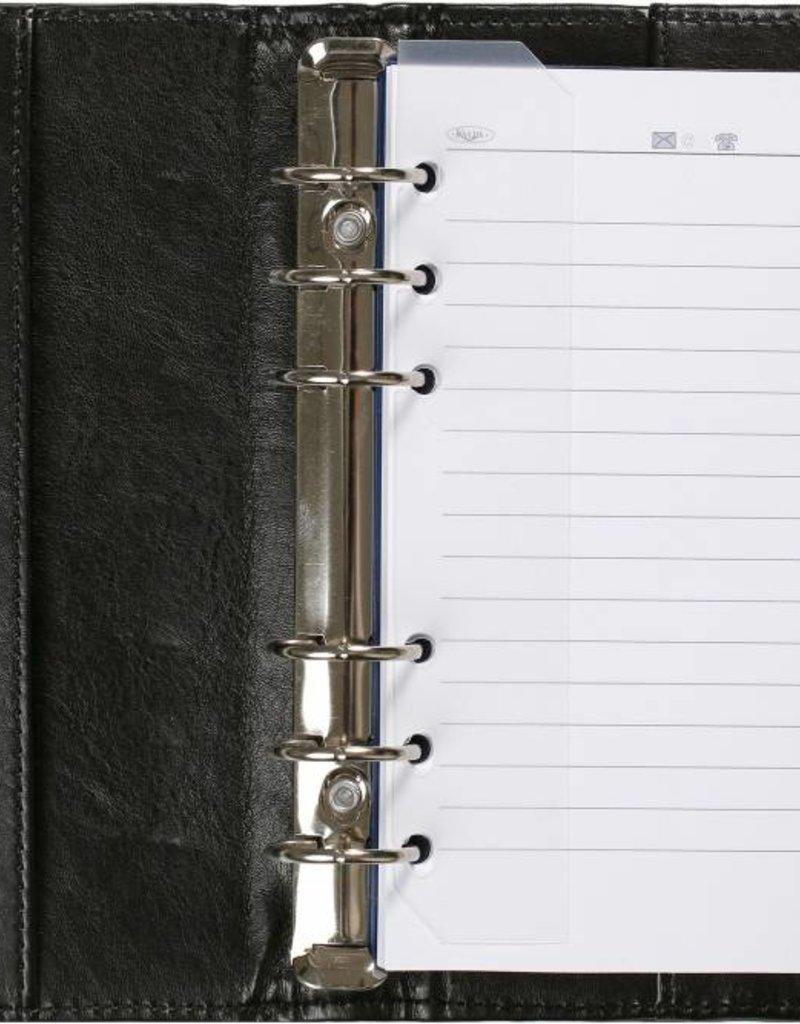 Kalpa Kalpa A4 schrijfmap en personal (standaard) organiser pullup zwart