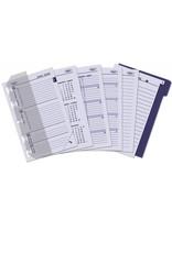Kalpa 1311-64 Kalpa Junior Pocket Organiser with Paper Fillers, Weekly Planner, Journal, Diary - Taupe