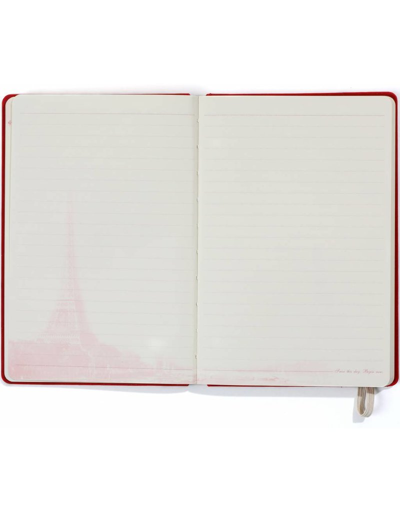 Dreamnotes A5 notitieboek Paris 21 x 15 cm. rood 254 p
