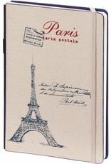 Dreamnotes A5 notitieboek Paris 21 x 15 cm. blauw 254 p