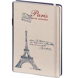 Dreamnotes D8019-B A5 Notebook Paris 21 x 15 cm Blue 254 p