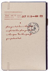 Dreamnotes D8019-B A5 notitieboek Paris 21 x 15 cm. blauw 254 p