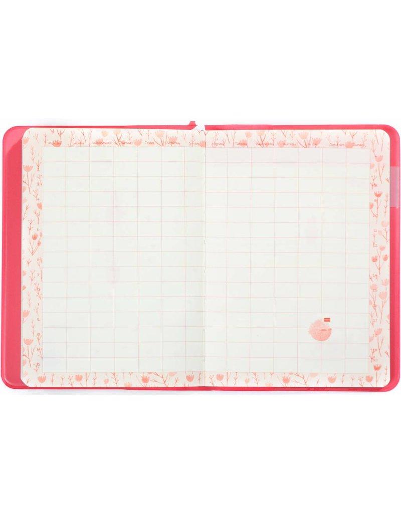 Dreamnotes A6 agenda-notitieboek Bloesem 17 x 12 cm. pastel roze 226 p