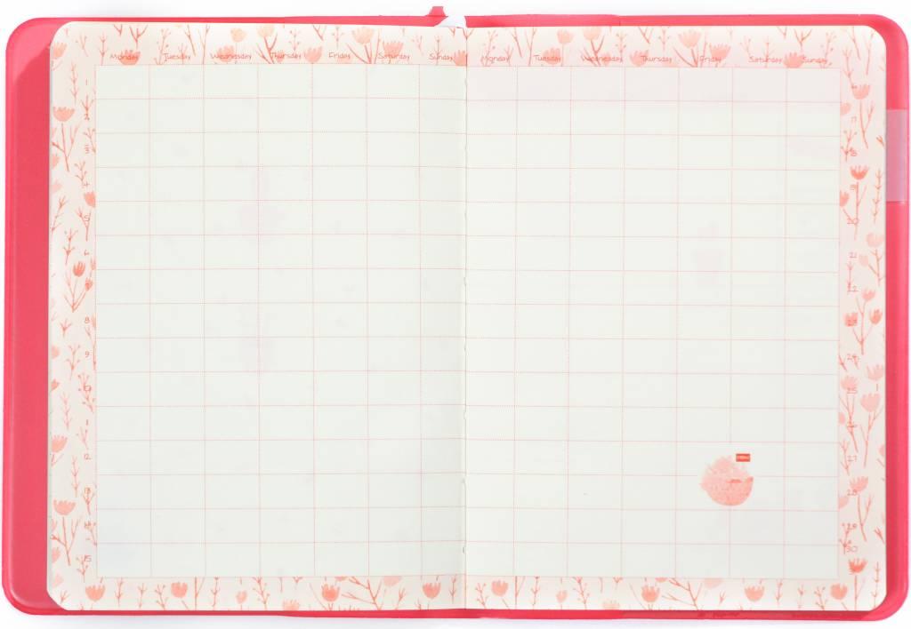 Dreamnotes A6 Agenda-Notebook Blossom 17 x 12 cm Pastel Pink 226 p