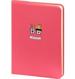 Dreamnotes D6066-1 A6 agenda-notitieboek Bloesem 17 x 12 cm. Pastel roze 226 p