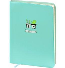 Dreamnotes D6066-2 A6 Agenda-Notebook Blossom 17 x 12 cm Sea Blue 226 p