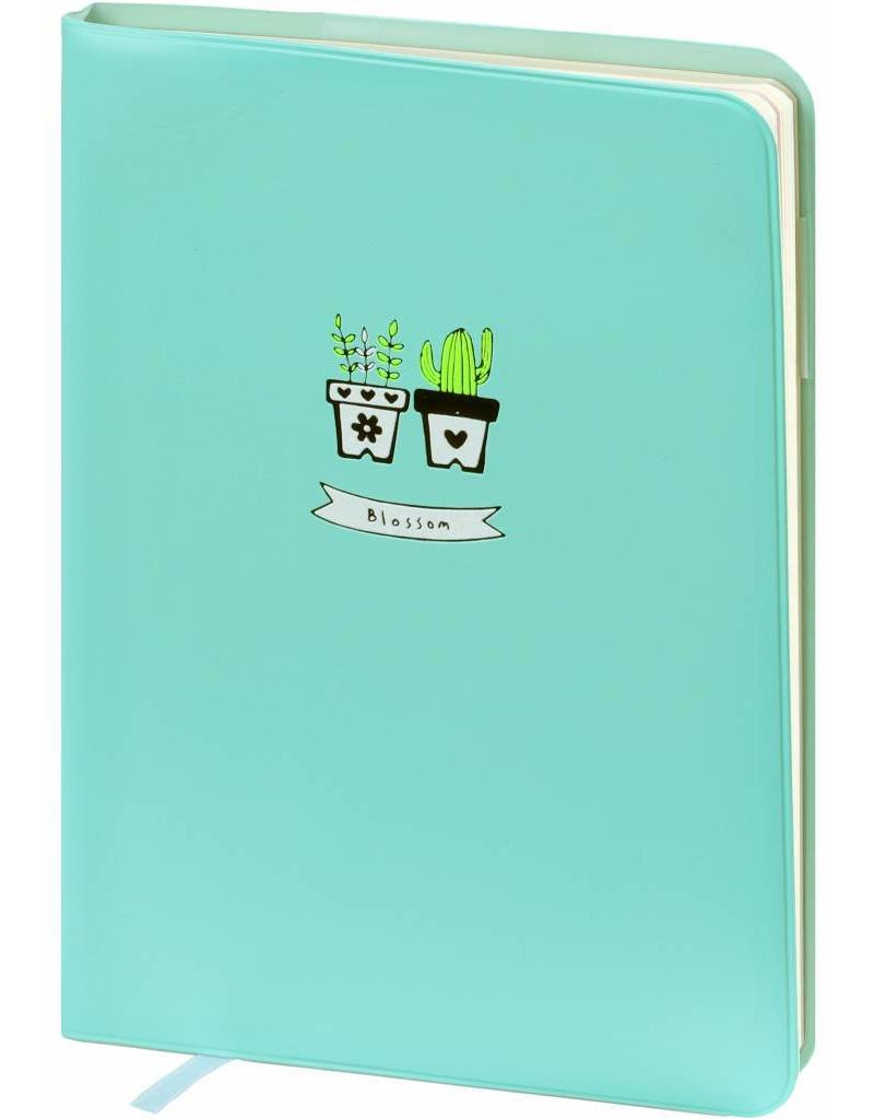 Dreamnotes D6066-2 A6 agenda-notitieboek Bloesem 17 x 12 cm. Pastel Green 226 p