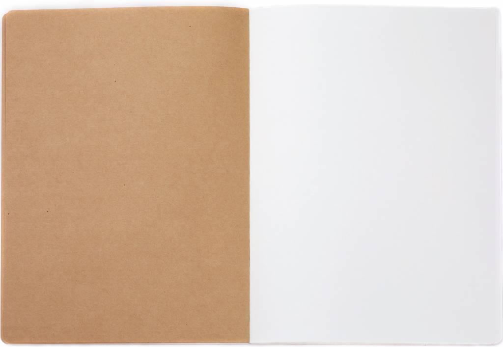 Dreamnotes 4 stuks Sketchbook Feathers 26 x 19 cm 240 p