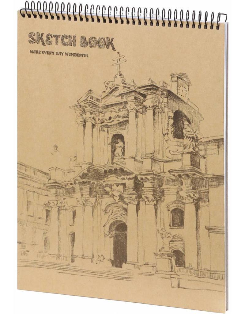 Dreamnotes D5051-1 A4 Schetsboek Wondervol 30 x 22 cm. 50 p