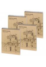 Dreamnotes D5051-P4 4 stuks A4 Sketchbook Wonderful 30 x 22 cm 50 p