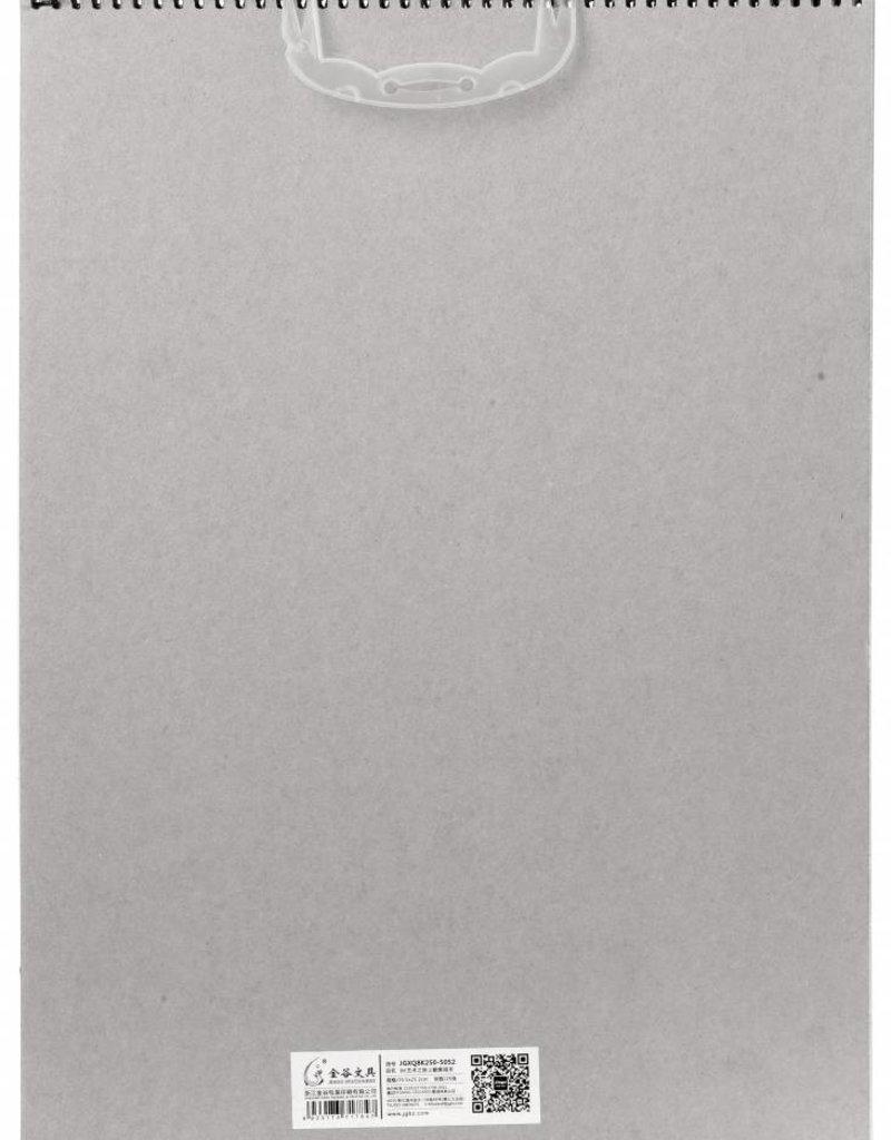 Dreamnotes D5052-P4 4 stuks A4 Sketchbook Wonderful 36 x 25 cm 50 p