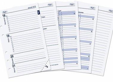 Pocket organiser year re-fill