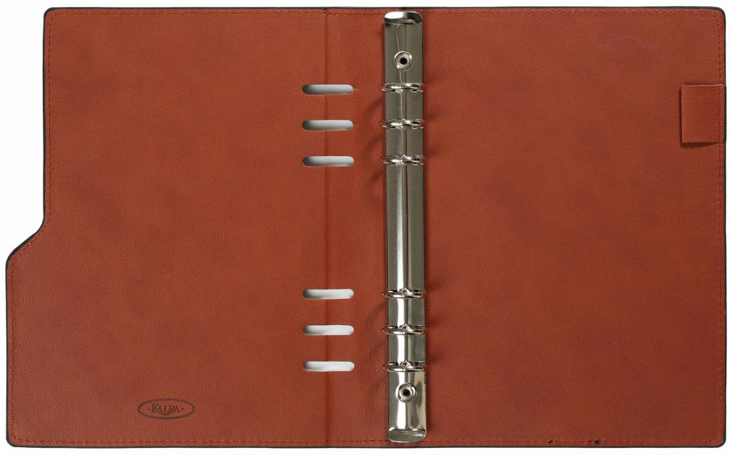 Kalpa Kalpa A5 Compact Organizer Gloss Croco Taupe