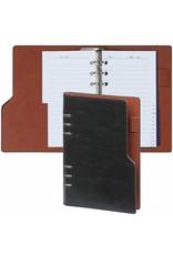 Kalpa 1116-60 Kalpa Compact Personal Organiser Agenda Paper Fillers, Journal, Diary - 19 x 14 cm - Pullup Black