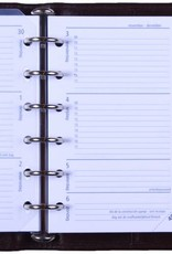 Kalpa 1311-G Pocket organizer Rundleer bruin