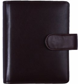 Kalpa 1311-G Pocket organiser classic brown - leather