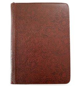 Kalpa 2400-48 Alpstein writing case with zip flower garden wine