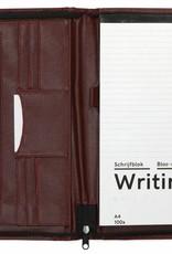 Kalpa Kalpa Alpstein schrijfmap met rits Bordeux