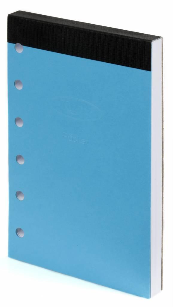 Kalpa 1311-95 Kalpa Junior Pocket Organiser With Paper Fillers, Weekly Planner, Journal, Diary - Black