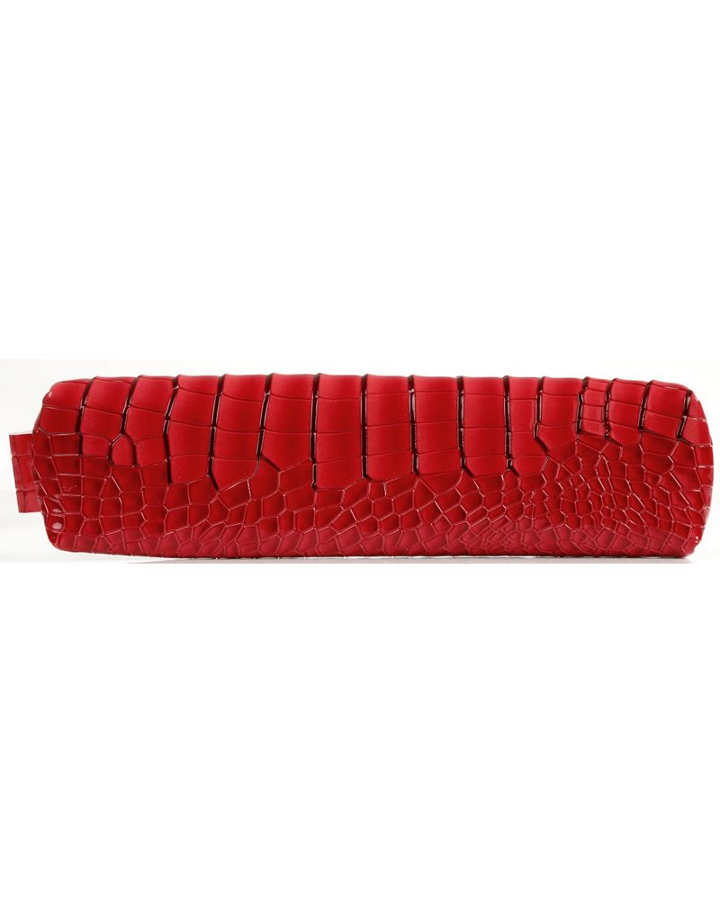 Kalpa Kalpa Bodensee pencase with zip rood croco